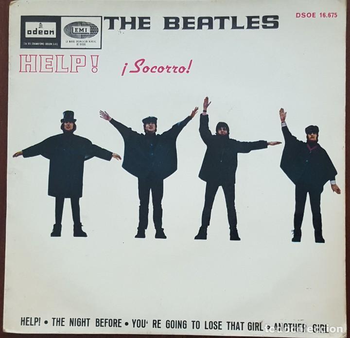 EP / THE BEATLES / HELP - THE NIGHT BEFORE - YOU'RE GOING TO LOSE THAT GIRL - ANOTHER GIRL, 1965 (Música - Discos de Vinilo - EPs - Pop - Rock Internacional de los 50 y 60)