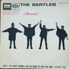 Discos de vinilo: EP / THE BEATLES / HELP - THE NIGHT BEFORE - YOU'RE GOING TO LOSE THAT GIRL - ANOTHER GIRL, 1965. Lote 249252890
