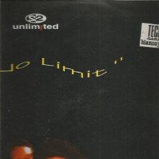Discos de vinilo: 2 UNLIMITED NO LIMIT. Lote 249285290