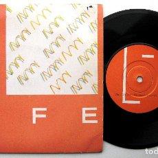 Discos de vinilo: LIFE (GRUPO DE ANDY ROBINSON, MANAGER DE NEW ORDER) - TELL ME - SINGLE FACTORY 1984 UK SYNTH-POP BPY. Lote 249318615