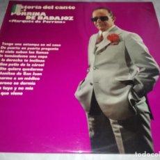 Disques de vinyle: HISTORIA DEL CANTE-PORRINA DE BADAJOZ-VOL 3-ORIGINAL AÑO 1974. Lote 249332735