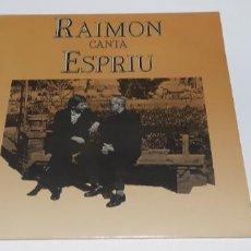 Discos de vinilo: RAIMON CANTA ESPRIU 2 LPS BUEN ESTADO. Lote 249337795