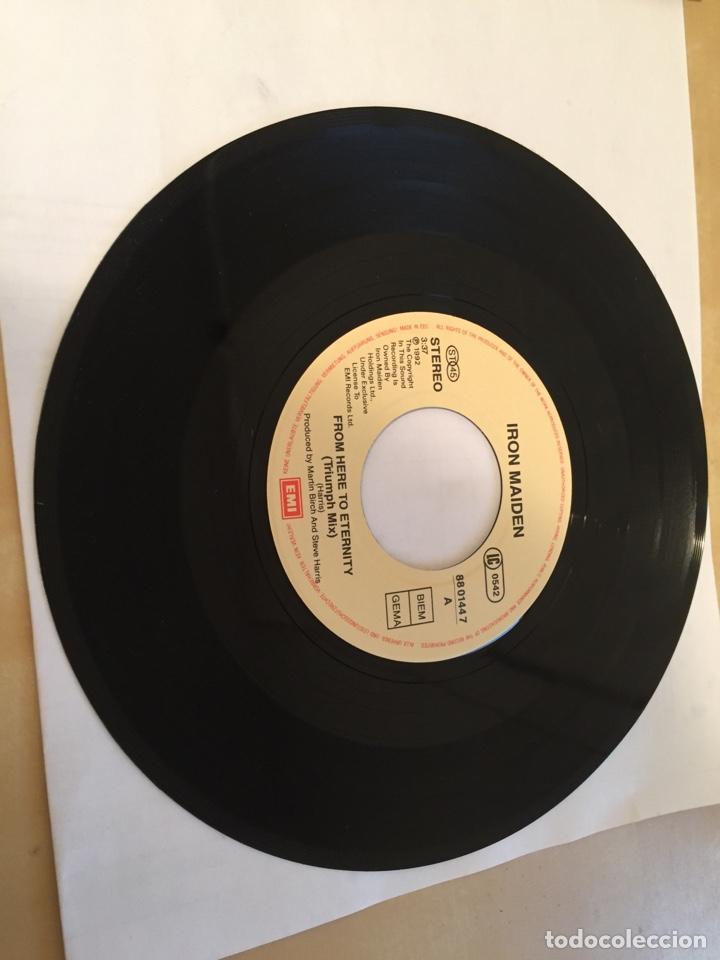 "Discos de vinilo: Iron Maiden - From Here To Eternity - SINGLE RADIO 7"" - 1992 - UK - NUEVO A ESTRENAR - Foto 2 - 249367165"