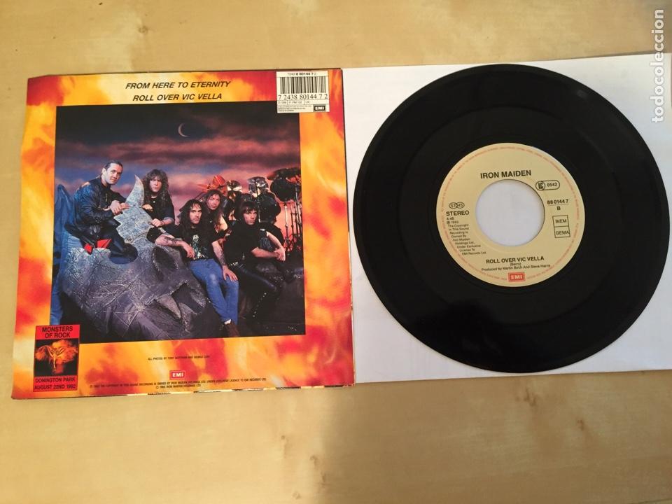 "Discos de vinilo: Iron Maiden - From Here To Eternity - SINGLE RADIO 7"" - 1992 - UK - NUEVO A ESTRENAR - Foto 3 - 249367165"