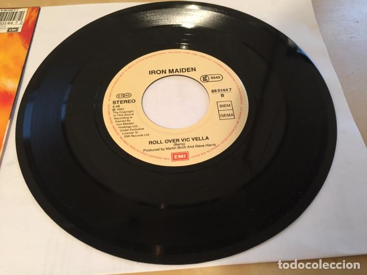 "Discos de vinilo: Iron Maiden - From Here To Eternity - SINGLE RADIO 7"" - 1992 - UK - NUEVO A ESTRENAR - Foto 4 - 249367165"