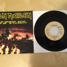"Discos de vinilo: IRON MAIDEN - FROM HERE TO ETERNITY - SINGLE RADIO 7"" - 1992 - UK - NUEVO A ESTRENAR. Lote 249367165"
