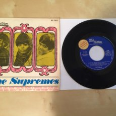 """Discos de vinilo: THE SUPREMES - LOVE IS HERE AND NOW YOU'RE GONE - RADIO SINGLE PROMO 7"""" - 1967 ESPAÑA. Lote 249368400"""