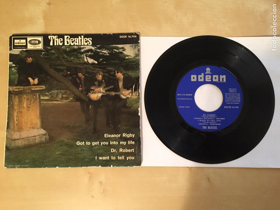 THE BEATLES - ELEANOR RIGBY / GOT TO GET YOU INTO MY LIFE / DR. ROBERT / I WANT TO TELL YOU 1966 ESP (Música - Discos - Singles Vinilo - Pop - Rock Internacional de los 50 y 60)