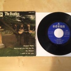 Discos de vinilo: THE BEATLES - ELESNOR RIGBY / GOT TO GET YOU INTO MY LIFE / DR. ROBERT / I WANT TO TELL YOU 1966 ESP. Lote 249370975