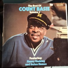 Discos de vinilo: COUNT BASIE, JIMMY RUSHING, HELEN HUMES - THE BEST OF COUNT BASIE VOLUME 3 (MCA CORAL, UK, 1974). Lote 249441800