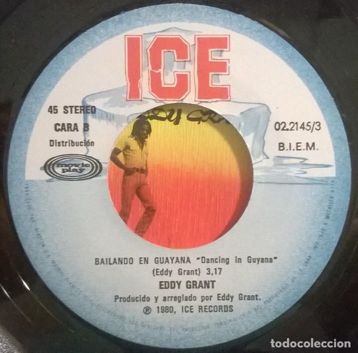 Discos de vinilo: Eddy Grant, Viviendo En La Primera Linea, Living On The Frontline, Movieplay, ICE 02.2145/3, 022145/ - Foto 4 - 249449515