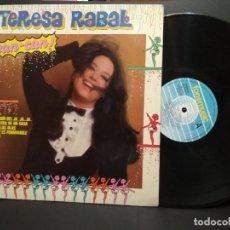 Discos de vinilo: TERESA RABAL - CAN CAN - LP - FONOMUSIC 1984 SPAIN PEPETO. Lote 249467620