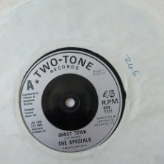 Dischi in vinile: THE SPECIALS- GHOST TOWN,TWO TONE RECORDS,VG. Lote 249473110