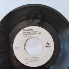Discos de vinilo: MADONNA DROWNED WORLD, VERSIÓN JUKEBOX REINO UNIDO,W0453LC. Lote 249484845