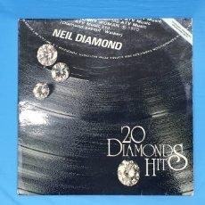 Discos de vinilo: NEIL DIAMOND - 20 DIAMONDS HITS. Lote 249489845