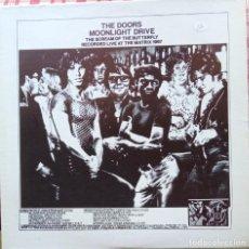 Discos de vinilo: THE DOORS - MOONLIGHT DRIVE RECORDED LIVE AT THE MATRIX 1967. Lote 249492225