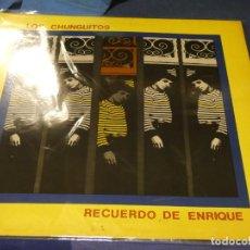 Discos de vinilo: LP LOS CHUNGUITOS RECUERDO DE ENRIQUE 1983 ESTADO GENERAL DECENTE. Lote 249504935