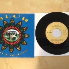 """Discos de vinilo: BLUR - SHE'S SO HIGH - RADIO SINGLE 7"""" -. Lote 249505210"""