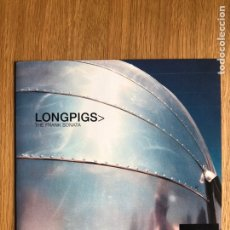 Discos de vinilo: LONGPIGS - THE FRANK SONATA - SINGLE. Lote 249541095