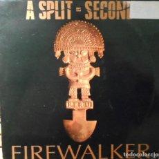 Discos de vinilo: A SPLIT SECOND FIREWALKER MAXI IMPORT ANTLER SUBWAY BELGIUM 1990. Lote 249544120