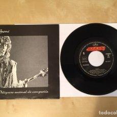 """Discos de vinilo: BONI - PELIGROSO ANIMAL DE COMPAÑIA - SINGLE 7"""" PROMO - 1992. Lote 249550550"""