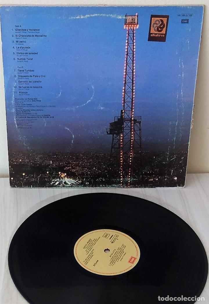 Discos de vinilo: GATO PEREZ - ATALAYA EMI - 1981 - Foto 2 - 249554410