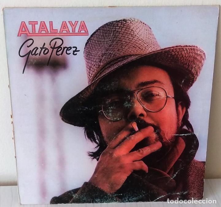 GATO PEREZ - ATALAYA EMI - 1981 (Música - Discos - LP Vinilo - Grupos y Solistas de latinoamérica)