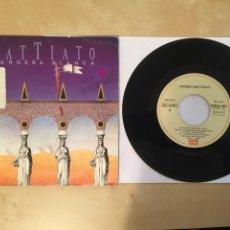 """Discos de vinilo: FRANCO BATTIATO - BANDERA BLANCA - SINGLE 7"""" - 1987 ESPAÑA. Lote 249560635"""