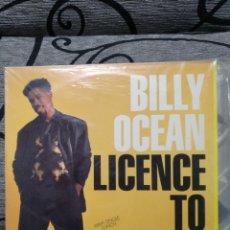 Discos de vinilo: BILLY OCEAN - LICENCIÉ TI CHILL. Lote 249564915
