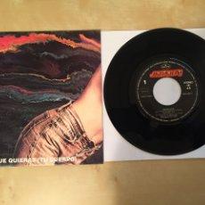 """Discos de vinilo: BARRICADA - HAZ LO QUE QUIERAS (TU CUERPO) - SINGLE 7"""" - 1992 ESPAÑA. Lote 249566865"""