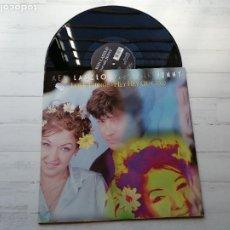 Discos de vinilo: KEN LASZLO DUET WITH JENNY* – LOVE THINGS / HEY HEY GUY 2000 MAXI SINGLE 1998 ITALIA NM/NM. Lote 249568015