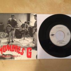 """Discos de vinilo: HOMBRES G - UN MINUTO NADA + - SINGLE 7"""" - 1992. Lote 249568750"""