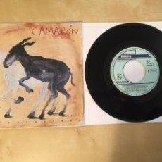"Disques de vinyle: CAMARON - LA PRIMAVERA - SINGLE PROMO 7"" - 1992 ESPAÑA. Lote 249574990"