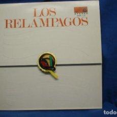 Discos de vinilo: LOS RELAMPAGOS - RELAMPAGOS - ZAFIRO ZN6-1S AÑO 1966 - CARPETA ABIERTA. Lote 249576780