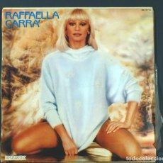 Disques de vinyle: LP DE RAFFAELLA CARRÁ: CUANDO CALIENTA EL SOL. HISPAVOX, 1984. MUY BUEN ESTADO.. Lote 249579235