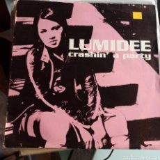 Discos de vinilo: LUMIDEE FEATURING N.O.R.E. - CRASHIN' A PARTY (UNIVERSAL, UK, 2003). Lote 249610520