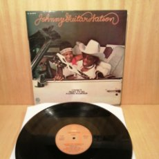Disques de vinyle: JOHNNY GUITAR WATSON. I DON'T WANT TO BE A LONE RANGER.. Lote 249860490