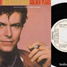Disques de vinyle: DAVID BOWIE - WILD IS THE WIND - SINGLE DE VINILO EDICION ESPAÑOLA PROMOCIONAL. Lote 250132310