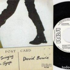 Disques de vinyle: DAVID BOWIE - BOYS KEEP SWINGING - SINGLE DE VINILO EDICION ESPAÑOLA PROMOCIONAL. Lote 250132635