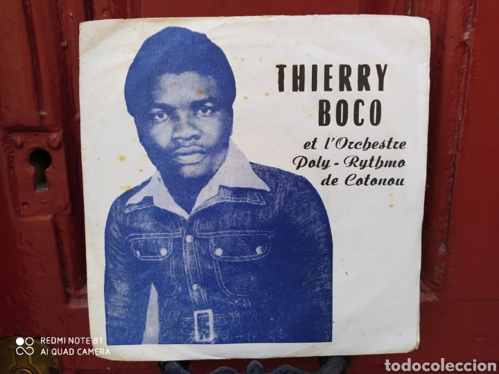 THIERRY BOCO ETL'ORCHESTRE POLY-RYTHMO DE COTONOU–DIVORCE DE CECILIA SINGLE ORIGINAL BENIN. (Música - Discos - Singles Vinilo - Funk, Soul y Black Music)
