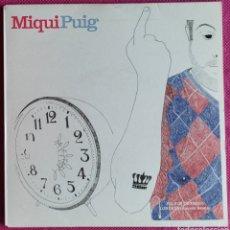 """Discos de vinilo: MIQUI PUIG - POLVOS DE TALCO 7"""" 2009 EDICIÓN LIMITADA 500 COPIAS - POP INDIE. Lote 250137545"""