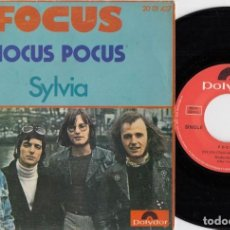 Discos de vinilo: FOCUS - HOCUS POCUS - SINGLE DE VINILO EDICION ESPAÑOLA. Lote 250139470