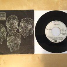 """Discos de vinilo: KRAFTWERK - MUSIQUE NON STOP - SINGLE RADIO PROMO 7"""" - 1986. Lote 250141225"""
