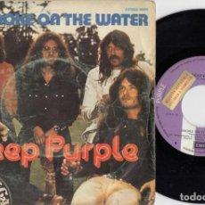 Discos de vinilo: DEEP PURPLE - SMOKE ON THE WATER - SINGLE DE VINILO EDICION ESPAÑOLA PROMOCIONAL. Lote 250148965