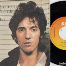 Disques de vinyle: BRUCE SPRINGSTEEN - PROVE IT ALL NIGHT - SINGLE DE VINILO EDICION ESPAÑOLA. Lote 250150430
