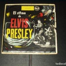 Disques de vinyle: ELVIS EP NECESITO UNA MUJER+3 MUY RARO. Lote 250150745