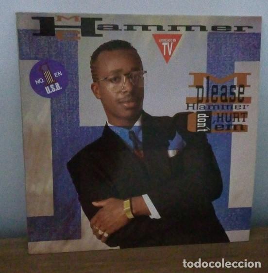 M.C. HAMMER - PLEASE HAMMER DON´T HURT 'EM - LP - 1990 (Música - Discos - LP Vinilo - Rap / Hip Hop)