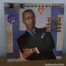 Discos de vinilo: M.C. HAMMER - PLEASE HAMMER DON´T HURT 'EM - LP - 1990. Lote 250158125