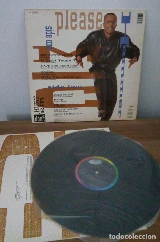 Discos de vinilo: M.C. HAMMER - PLEASE HAMMER DON´T HURT EM - LP - 1990 - Foto 2 - 250158125