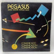 Disques de vinyle: LP - VINILO PEGASUS ARISA ESCOTE KITFLUS MAX - COMUNICACIÓ COMUNICACIÓN COMUNICATION -ESPAÑA - 1983. Lote 250209875